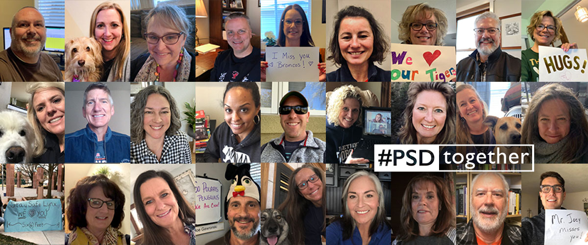 PSD selfie pics from principals.