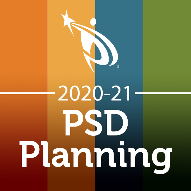 PSD Planning 2020-21 graphic.