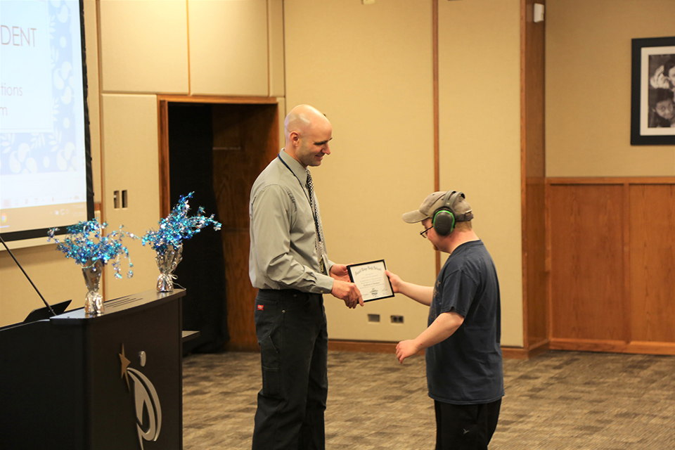 First Community Connections graduate