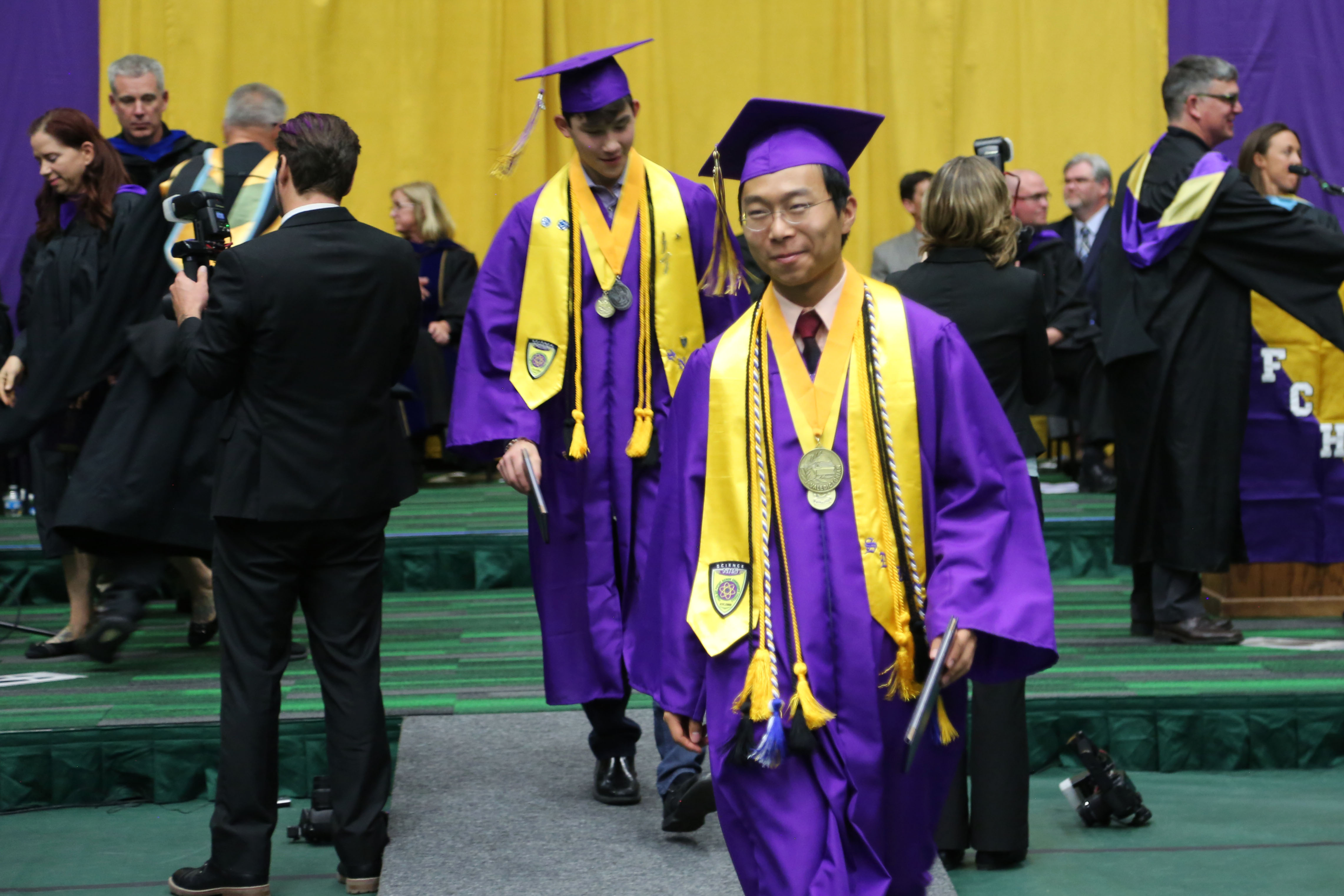 Fort Collins High graduates accept their diplomas