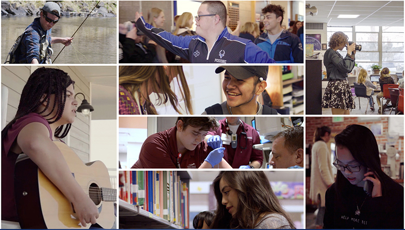 Collage of 2019  grads featured in video series Grads at a Glance