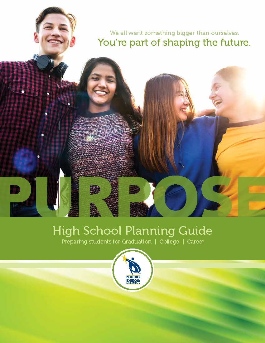 Cover of 2020 PSD High School Planniing Guide with smiling students.