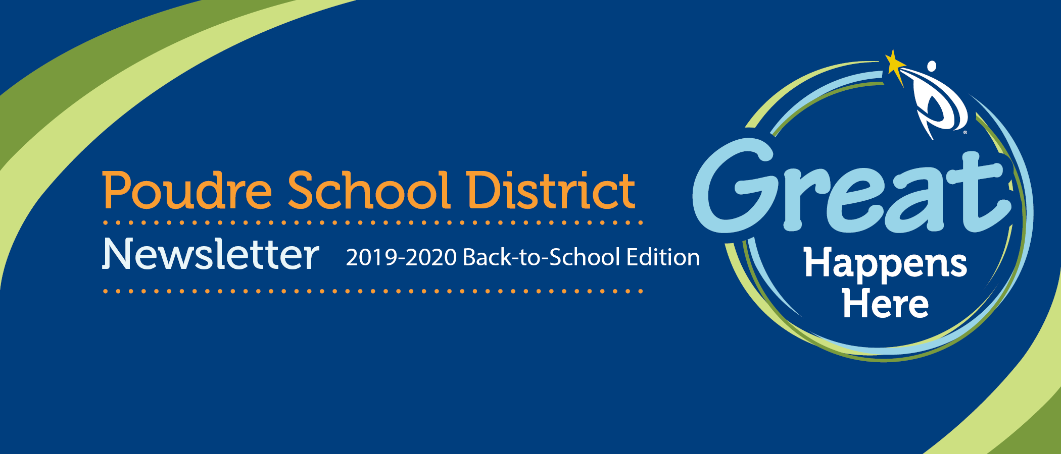 PSD Great Happens Here Back to School 2019 header for newsletter