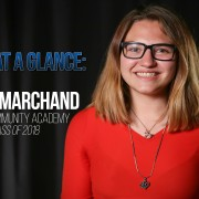 Maddy Marchand, Poudre Community Academy Class of 2018