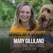 Mary Gilliland, CHS Class of 2018