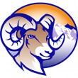 Beattie Elementary logo featuring a ram head